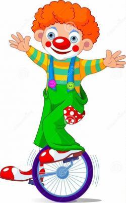 Clown clipart streamer