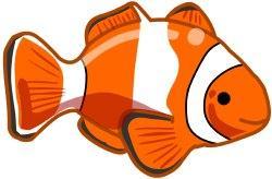 Clownfish clipart