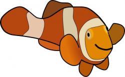 Clownfish clipart fish face