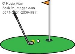 Golf Course clipart putt putt golf