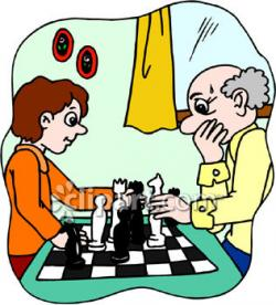 Chess clipart cartoon