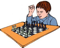Chess clipart chess player