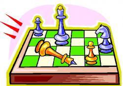 Chess clipart border
