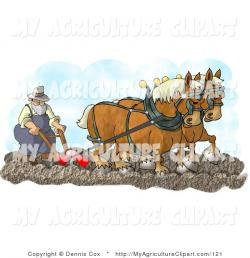 Clydesdale clipart farmer man