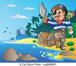 Coast clipart cartoon