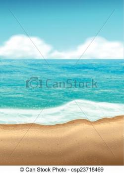 Coastline clipart beach scenery