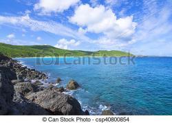 Caribbean clipart coastline