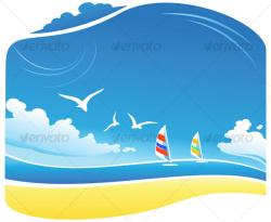 Coastline clipart cartoon