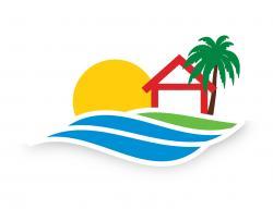 Coastline clipart florida vacation