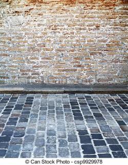 Cobblestone clipart brick