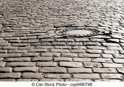 Cobblestone clipart cobblestone road