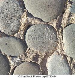 Cobblestone clipart concrete