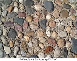 Cobblestone clipart gravel