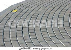 Cobblestone clipart pavement