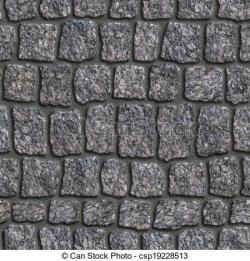 Cobblestone clipart seamless