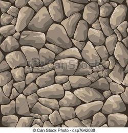 Cobblestone clipart stone wall