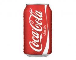 Coca Cola clipart tin