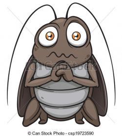 Cockroach clipart funny cartoon