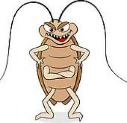 Cockroach clipart happy