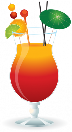 Beverage clipart mixed drink