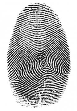 Drawn handprint