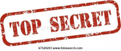 Code clipart top secret