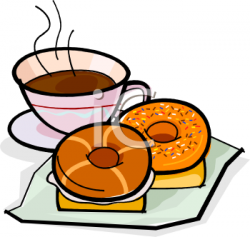 Bagel clipart breakfast