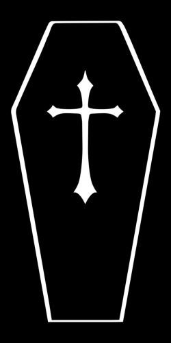 Gothc clipart coffin