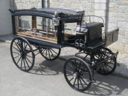 Drawn trolley french horse