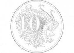 Coin clipart australian coin