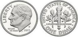 Coin clipart dime front back