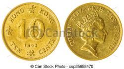 Coin clipart hong kong