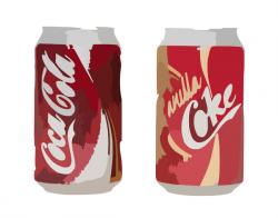 Coca Cola clipart can