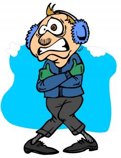 Chilling clipart cold temperature