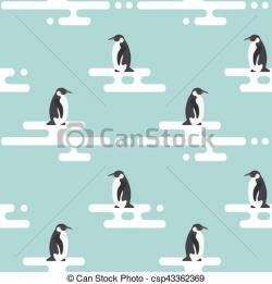 Glacier clipart penguin cartoon
