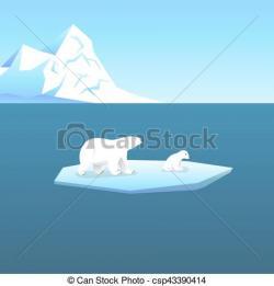 Glacier clipart cold climate