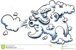 Breeze clipart cold wind