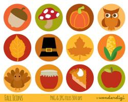 Thanksgiving clipart collage