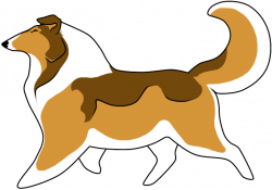 Collie clipart