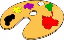 Colors clipart color pallet