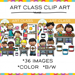 Products clipart art class