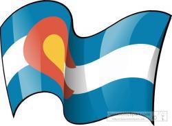 Colorado clipart Colorado Flag Clipart