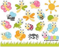 Bugs clipart cute