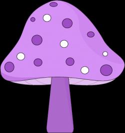 Cute clipart mushroom