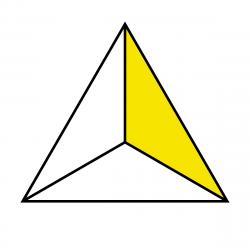 Color clipart polygon
