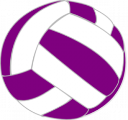 Color clipart volleyball