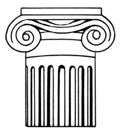Balcony clipart column