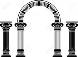 Columns clipart archway