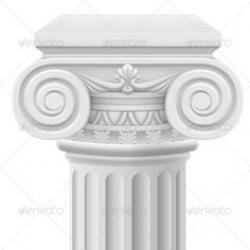 Columns clipart background