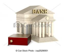 Columns clipart bank safe